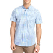 IZOD® Short-Sleeve Medium Plaid Shirt