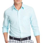 IZOD® Long-Sleeve End-on-End Woven Shirt