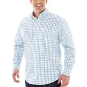 IZOD® Long-Sleeve Poplin Shirt–Big & Tall