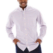 IZOD® Long-Sleeve Poplin Shirt–Big & Tall