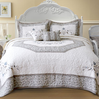 jcpenney.com | Agnes Embroidered Bedspread & Accessories