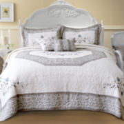 Agnes Embroidered Bedspread & Accessories