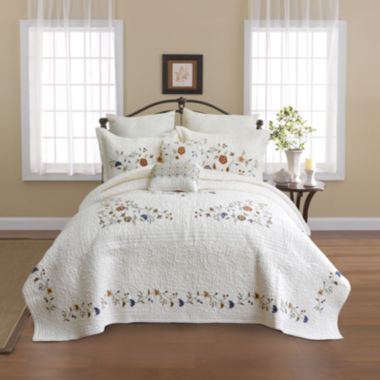 jcpenney.com | Nostalgia Home Alice Embroidered Bedspread
