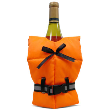 jcpenney.com | Epicureanist™ Life Preserver Wine Bottle Jacket