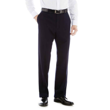 jcpenney.com | Stafford® Year-Round Flat-Front Pants
