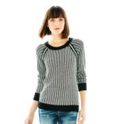 Joe Fresh™ Long-Sleeve Patterned Sweater