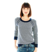 Joe Fresh™ Long-Sleeve Patterned Sweater