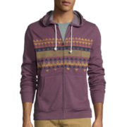 Arizona Long-Sleeve  Printed Fleece Hoodie