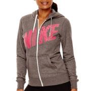 Nike® Club Fleece Long-Sleeve FZ Hoodie