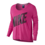 Nike® Long-Sleeve Prep T-Shirt