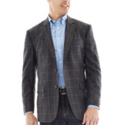 Stafford® Signature Merino Wool Sport Coat - Slim Fit