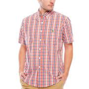 U.S. Polo Assn.® Short-Sleeve Button-Front Shirt