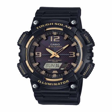 jcpenney.com | Casio Mens Black Strap Watch-Aqs810w-1a3v
