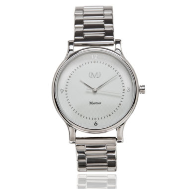 jcpenney.com | Martian Womens Silver Tone Smart Watch-Mps01cl042