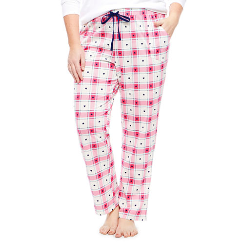 Sleep Chic Pajama Pants-Plus