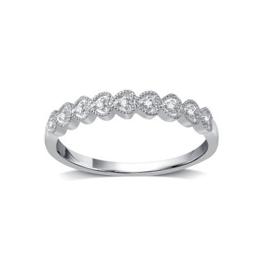 jcpenney.com | Womens Diamond Accent Round White Diamond 10K Gold Band