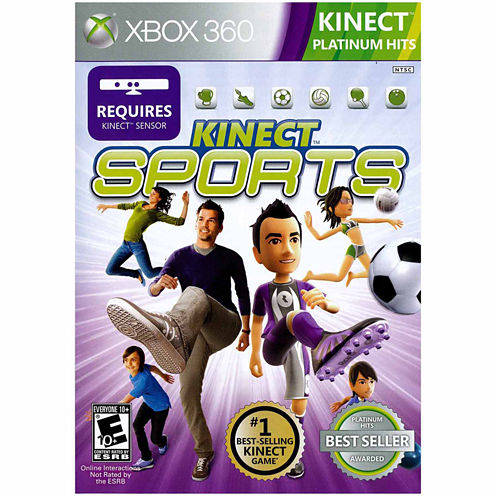 Kinect Sports Video Game-XBox 360