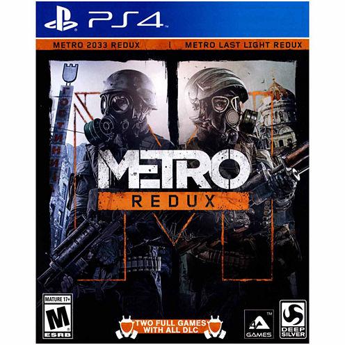 Metro Redux Video Game-Playstation 4