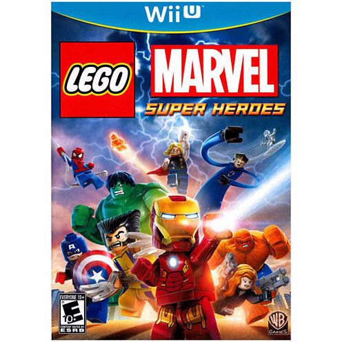 Lego Marvel Super Heroes Video Game-Wii U
