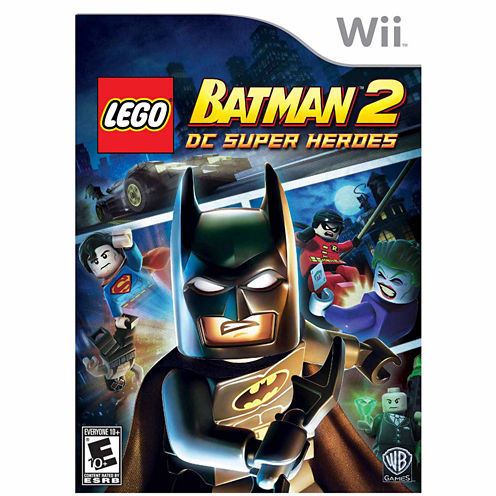 Lego Batman 2 Super Hero Video Game-Wii