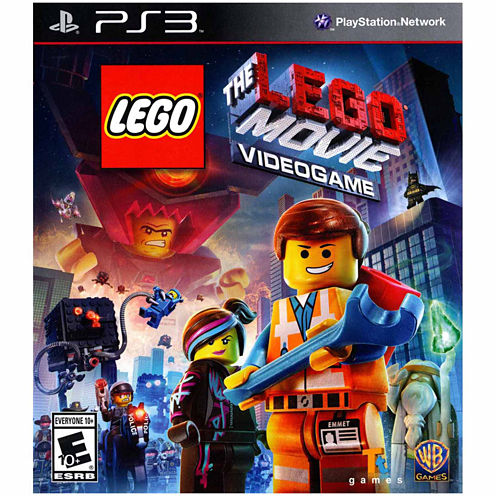 Lego Movie Video Game-PS3