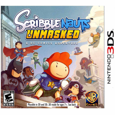 jcpenney.com | Scribblenauts Unmasked Video Game-Nintendo 3DS
