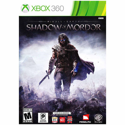 Middle Earth:Shdw Of Mrdr Video Game-XBox 360