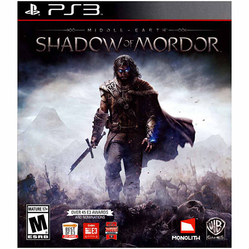 Middle Earth:Shdw Of Mrdr Video Game-PS3