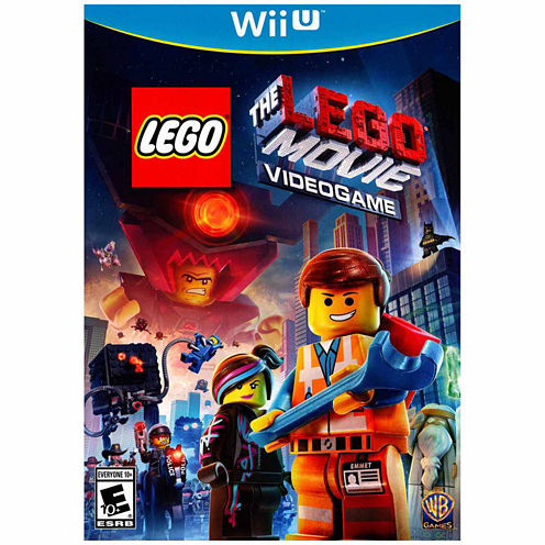 Lego Movie Videogame Video Game-Wii U