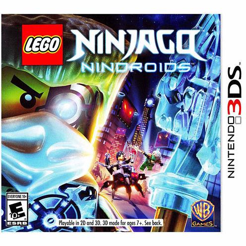 Lego Ninjago Nindroids Video Game-Nintendo 3DS