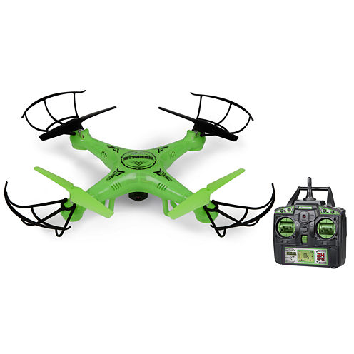 Striker Glow-In-The-Dark 2.4GHz 4.5CH RC Spy Drone