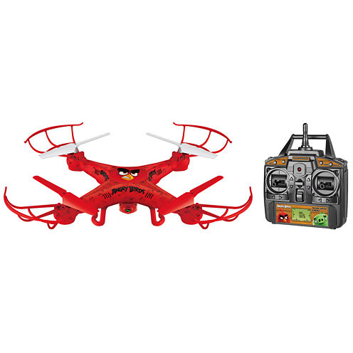 Angry Birds Licensed Red Squak-Copter 4.5CH 2.4GHz RC Camera Drone