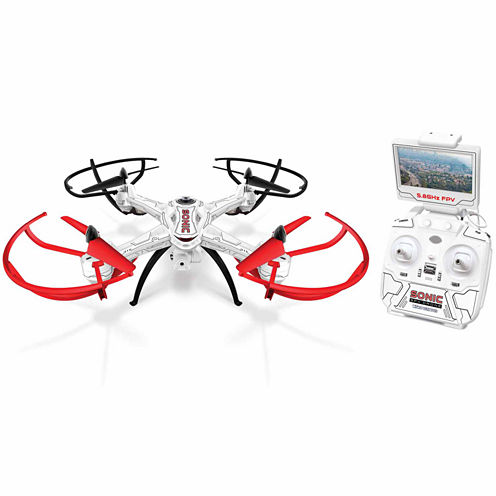 Sonic 2.4GHz 4.5CH Live-Feed Video Electric Gimbal RC Drone