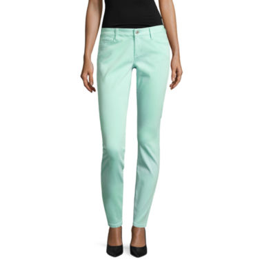 jcpenney.com | Arizona Luxe Stretch Twill Jeggings-Juniors