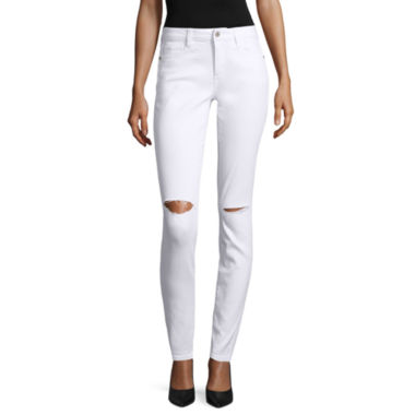 jcpenney.com | Arizona Slit Knee Skinny Jeans - Juniors