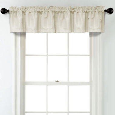 jcpenney.com | JCPenney Home Textured Blackout Rod Pocket Unlined Tailored Valance