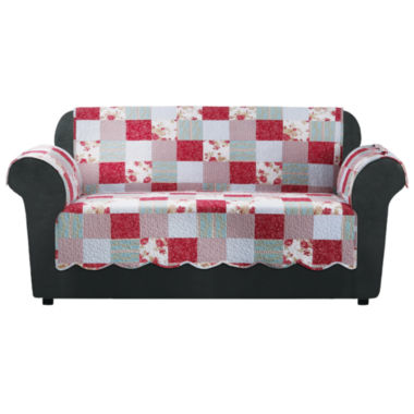 jcpenney.com | SURE FIT® Heirloom Quilt Loveseat Furniture Cover