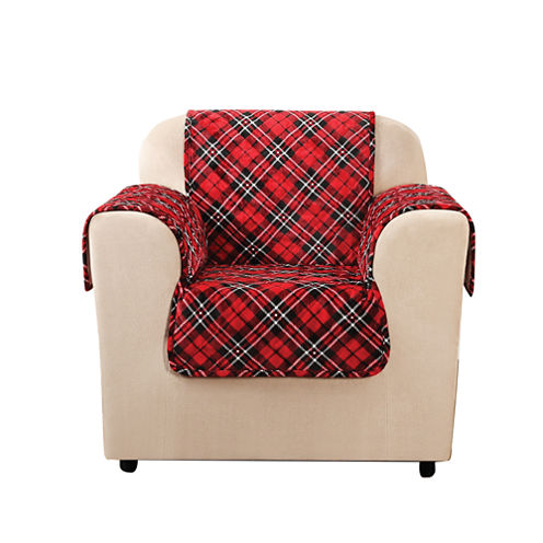 SURE FIT® Holiday Furniture Cover Chair