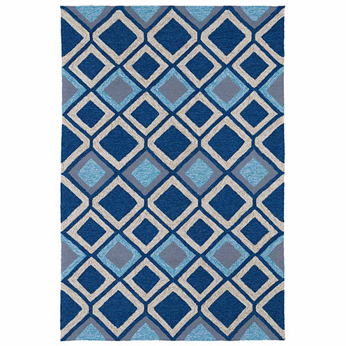 Kaleen Home And Porch Diamonds Hand Tufted Rectangular Rugs