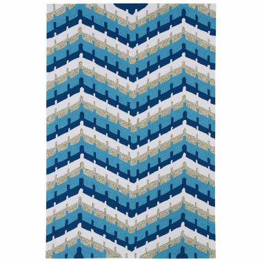 jcpenney.com | Kaleen Home And Porch Chevron Hand Tufted Rectangular Rugs