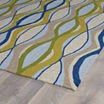 Kaleen Home And Porch Geo Wave Hand Tufted Rectangular Rugs