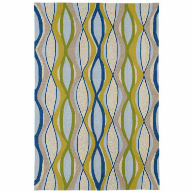 jcpenney.com | Kaleen Home And Porch Geo Wave Hand Tufted Rectangle Rugs