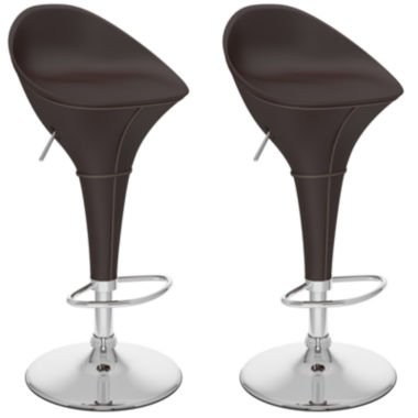 jcpenney.com | Round Styled Adjustable 2-pc. Bar Stool