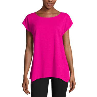 jcpenney.com | Made For Life 3/4 Sleeve T-Shirt