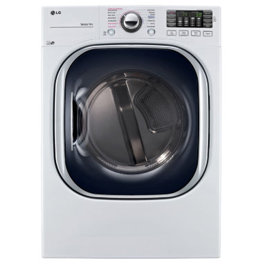 jcpenney.com | LG 7.4 cu. ft. Ultra Large Capacity TurboSteam™ Electric Dryer