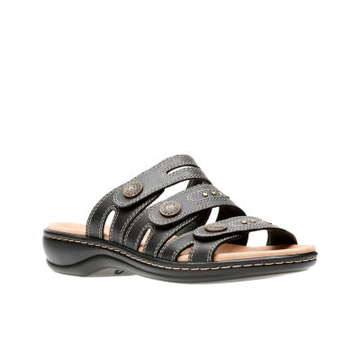 e268cb6e0d05 Clarks Leisa Lakia Womens Slide Sandals JCPenney