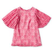 Little Maven™ by Tori Spelling Damask Chiffon Dress - Girls 12m-5y