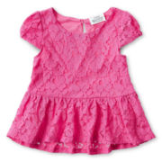 Little Maven by Tori Spelling Peplum Top - Girls 12m-5y
