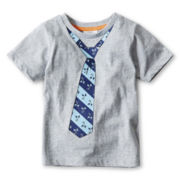 Little Maven™ by Tori Spelling Tie Tee - Boys 12m-5y
