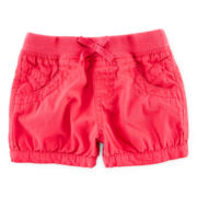Arizona Canvas Shorties – Girls 3m-24m